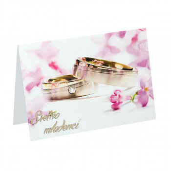 Svadbena čestitka ''Prstenje IV''