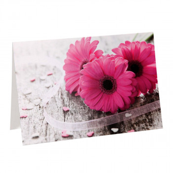 Greeting card ''Classic Flower 01''