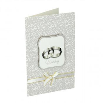 3D svadbena čestitka ''Prstenje''