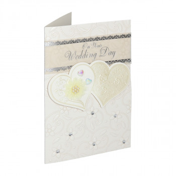 Greeting card 3D ''Wedding day 05''