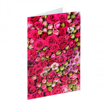 Greeting card ''Classic Flower 05''