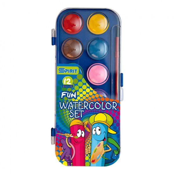 Vodene boje, 12 boja