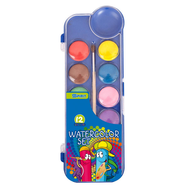 Vodene boje ''Fun'', 12 boja