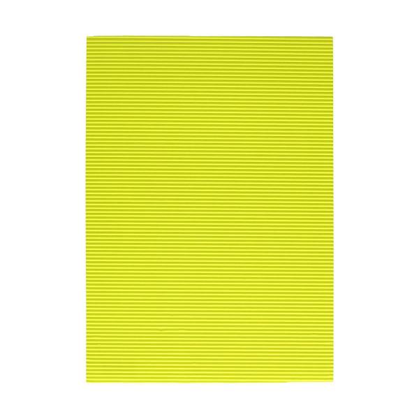 Karton rebrasti, fluo-žuta