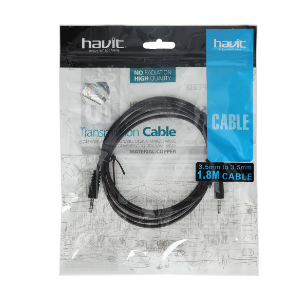 Audio kabal ''DVI/DVI'', 1.8m, 3.5/3.5mm