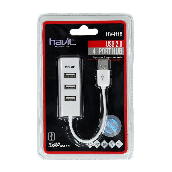 HUB ''HV-H18'', 4-porta USB 2.0