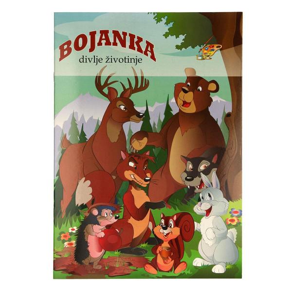 Bojanka ''Divlje životinje''