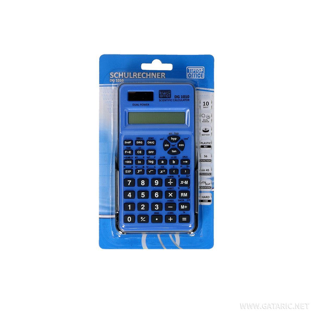 Školski digitron sa funkcijama ''DG-1010'', 12 cifara
