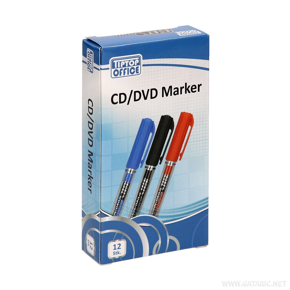 CD/DVD  Marker, dupli vrh