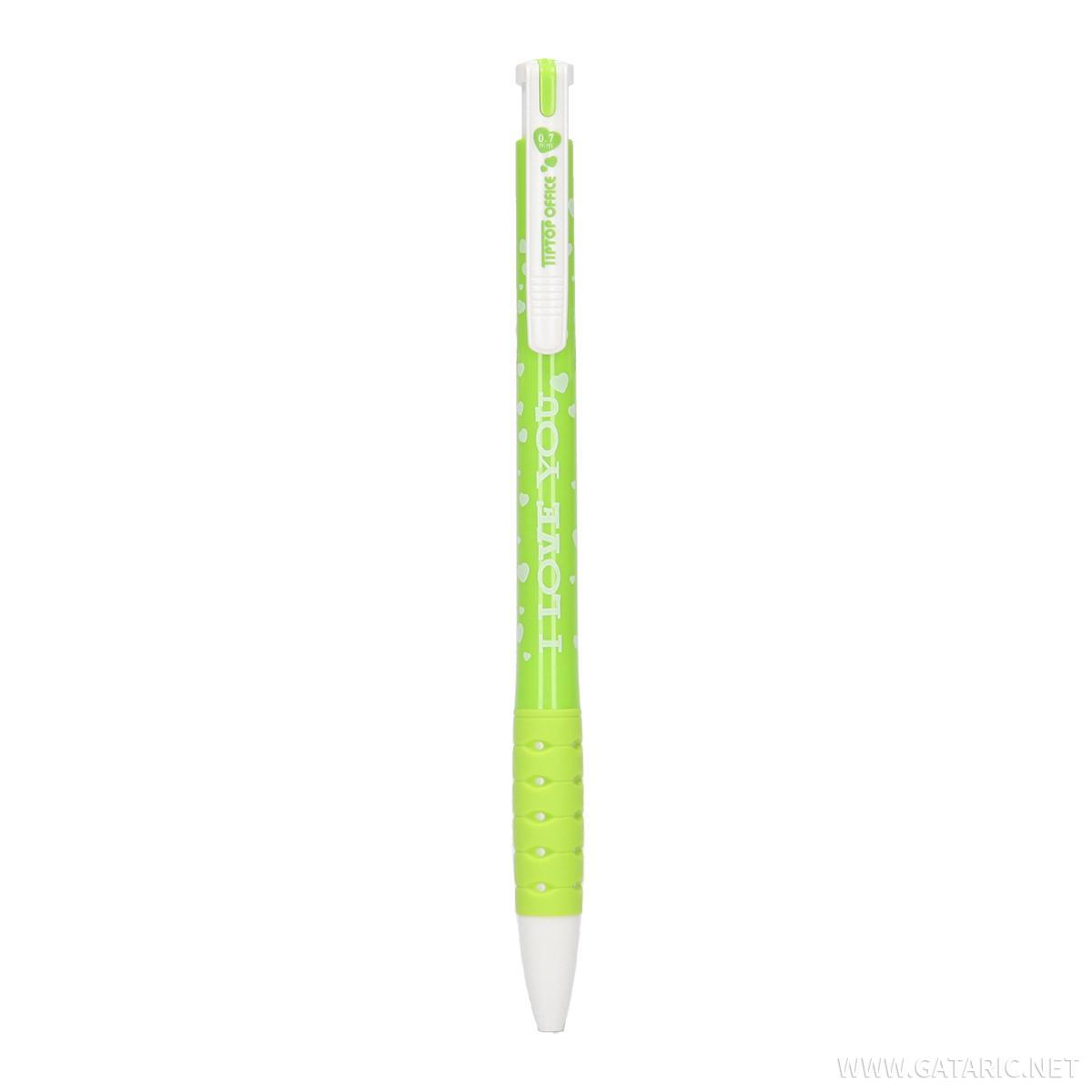 Hemijska olovka  ''I love you'', 0.7mm