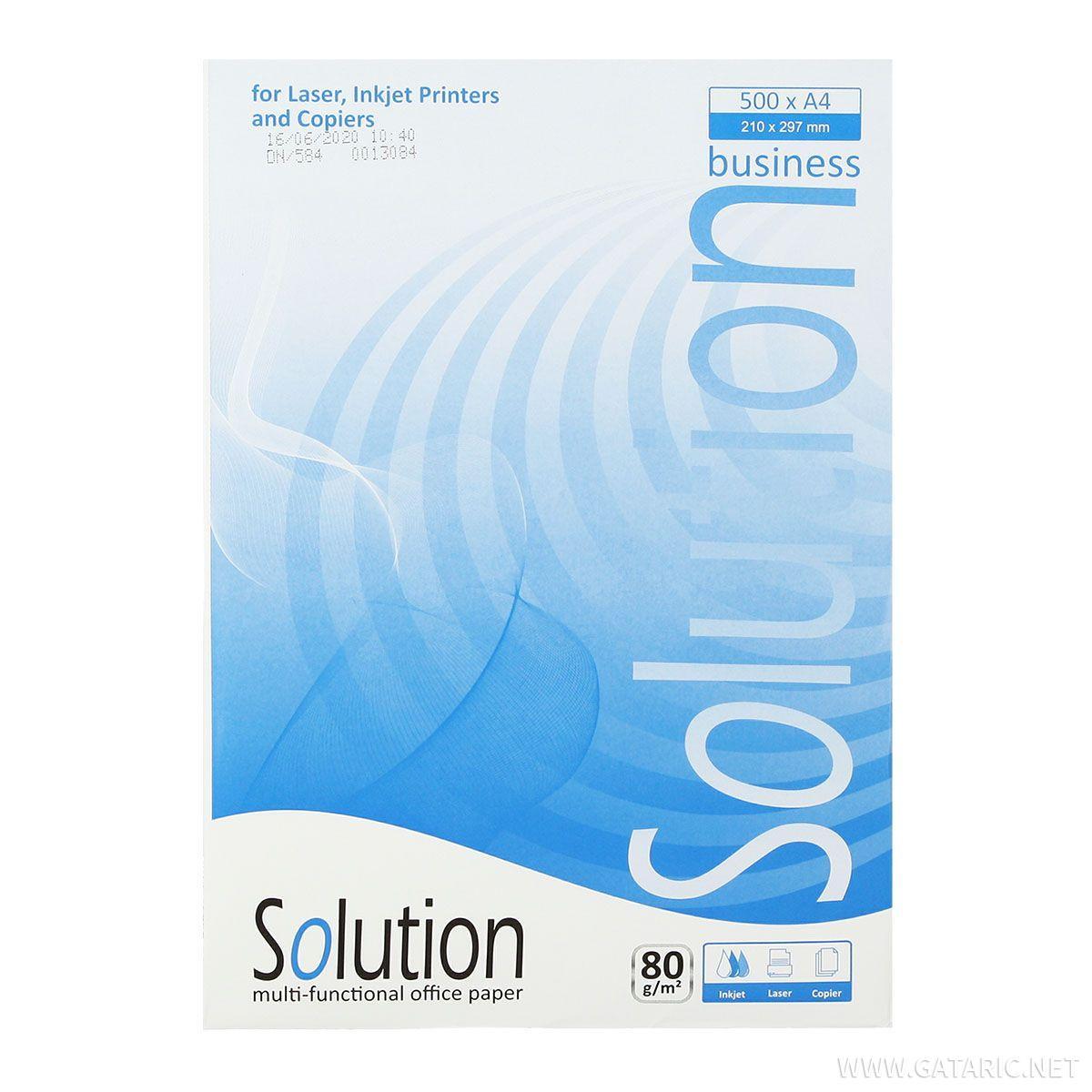 Fotokopirni papir ''Solution'' A4, 80g