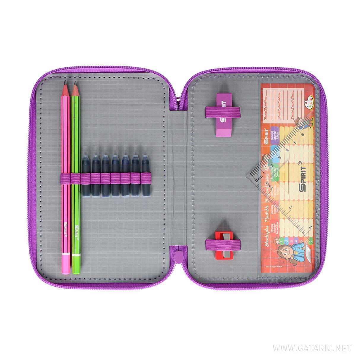Pernica 3D ''BUTTERFLY PURPLE'', 2 zipa