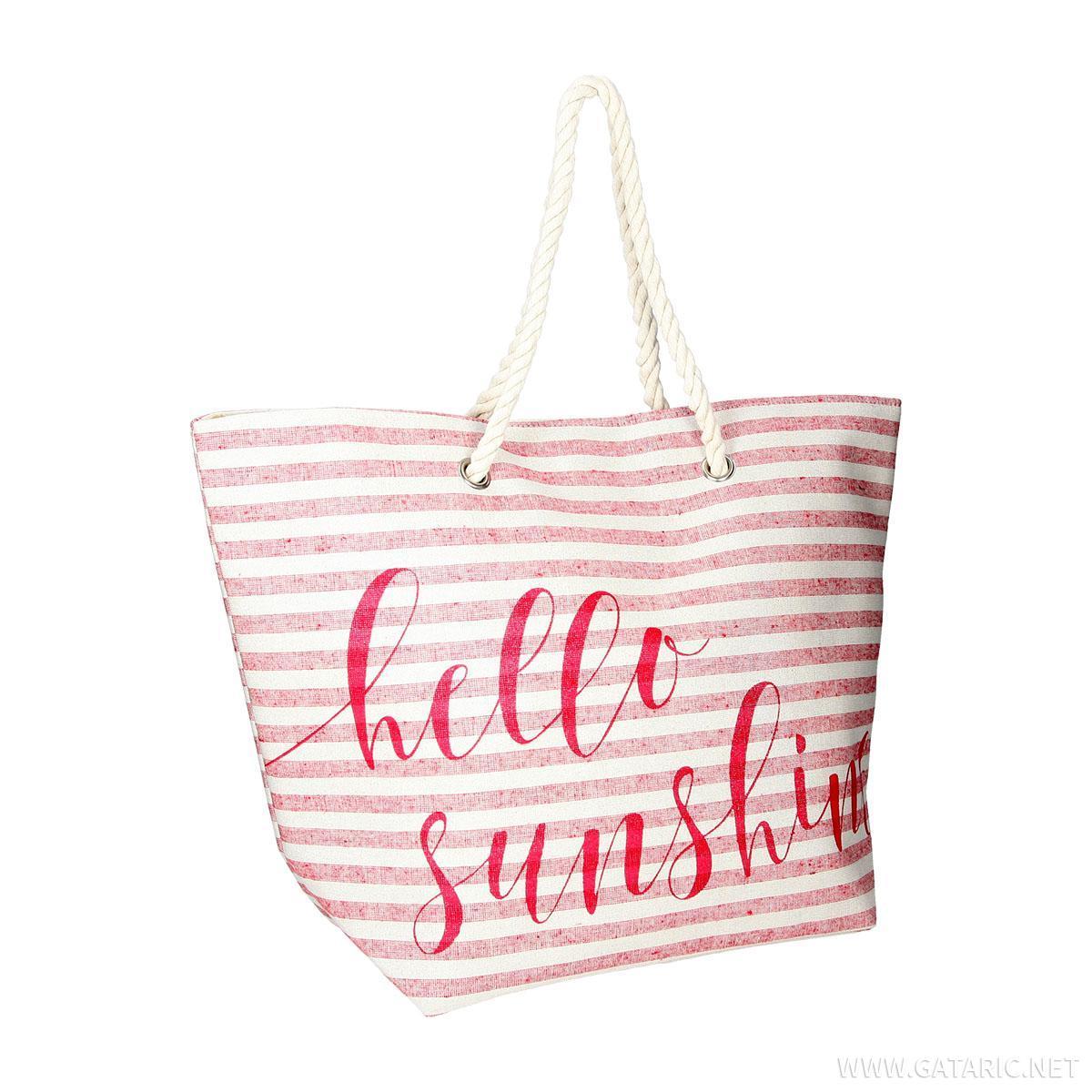 Torba za plažu ''Hello Sunshine''