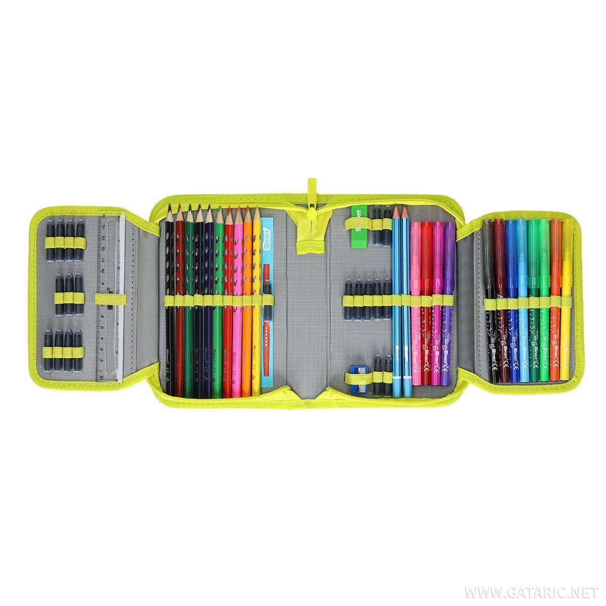 Pernica ''SQUARES'', 1 zip, 50 delova