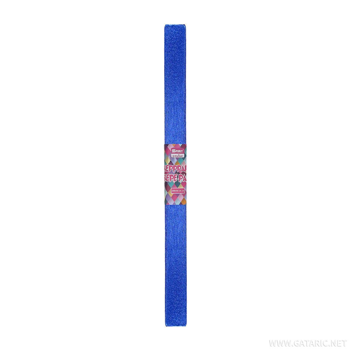 Crepe paper ''METALIC'', 200x50cm
