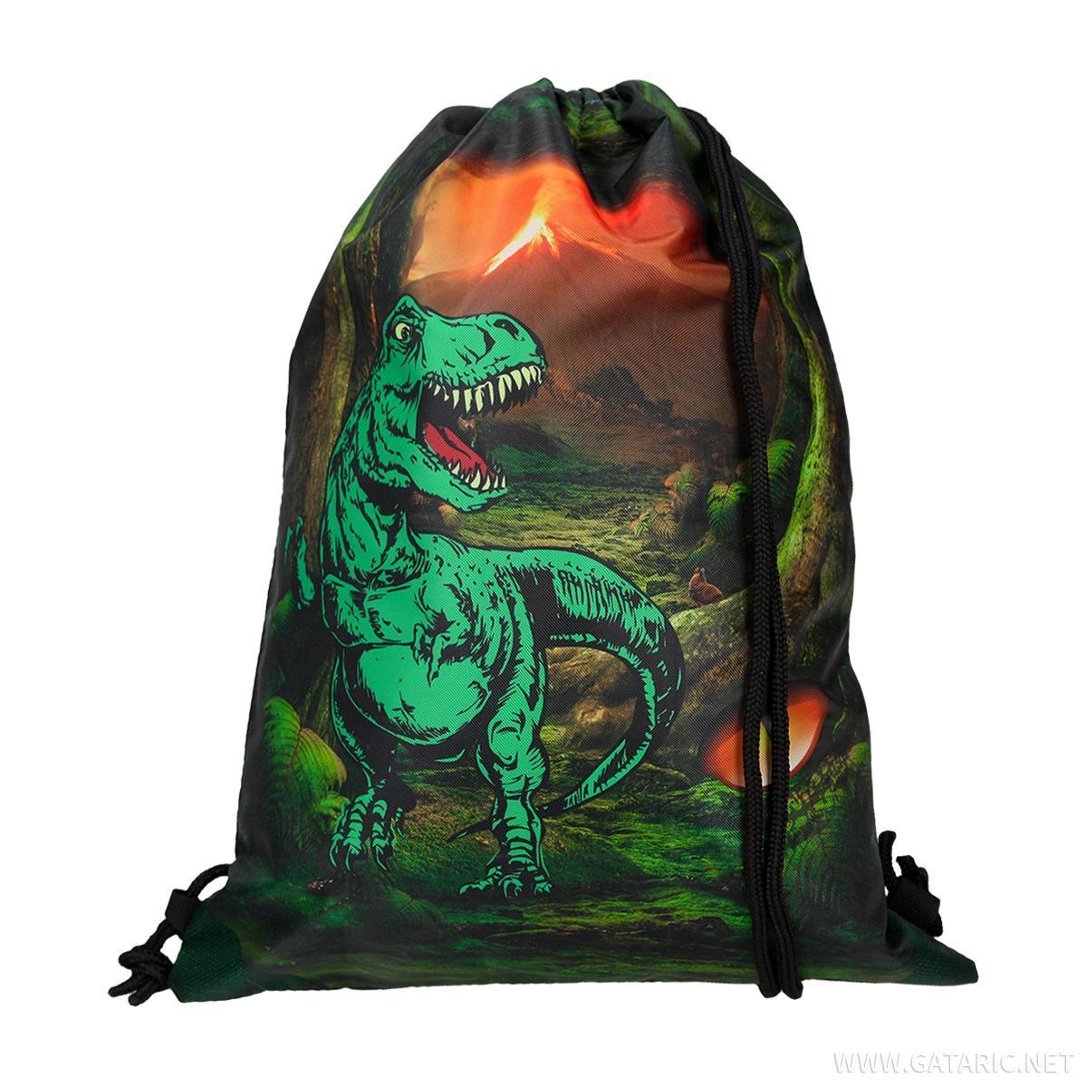 Torba set ''T-Rex'', LED kopča