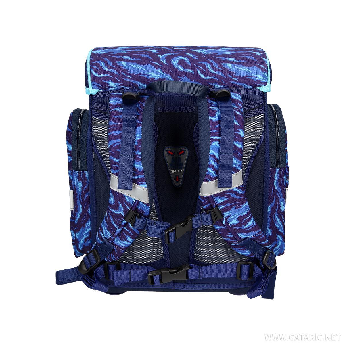 School bag set ''COSMO 06'', LED lock buckle
