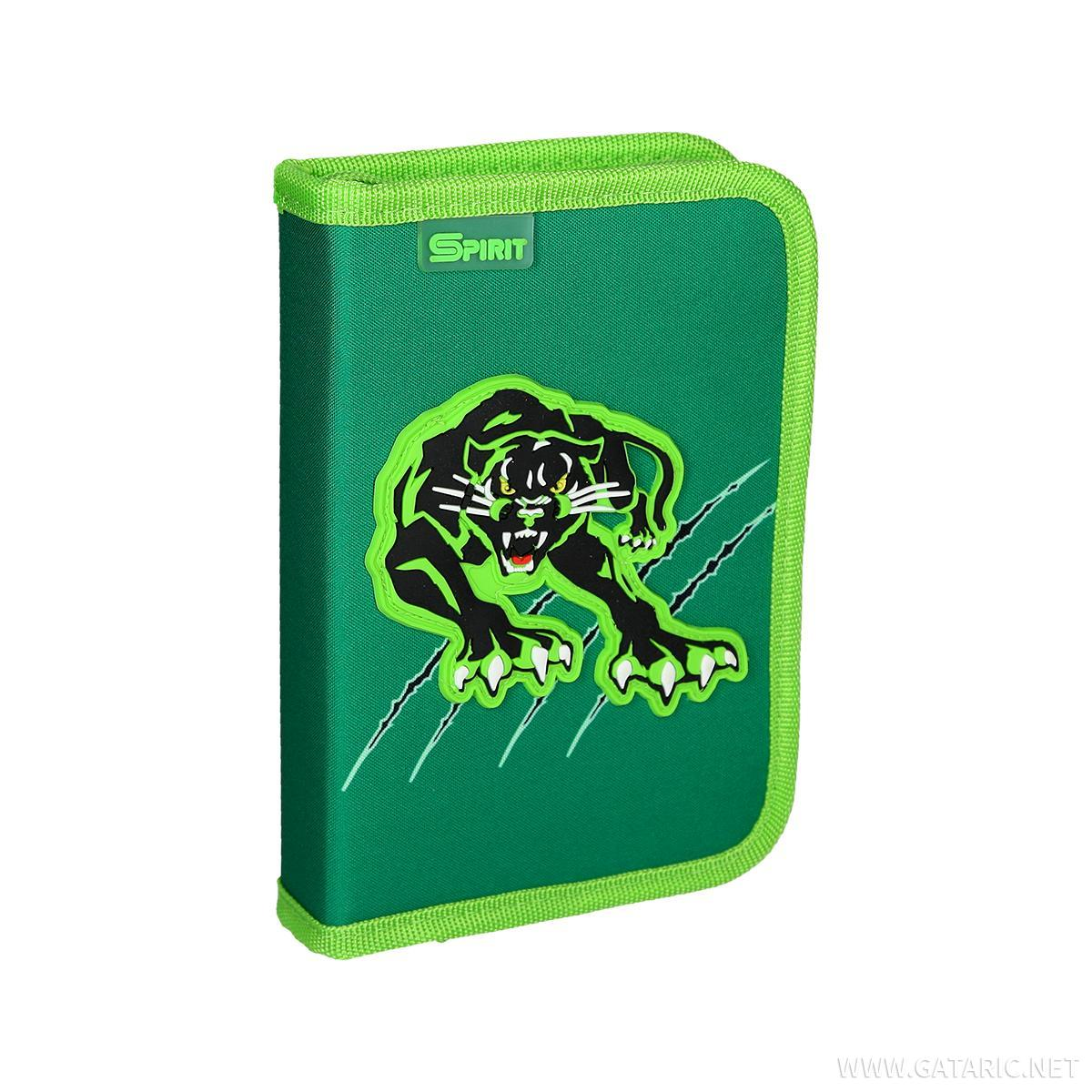Pencil case ''Panther'', 1 zipper