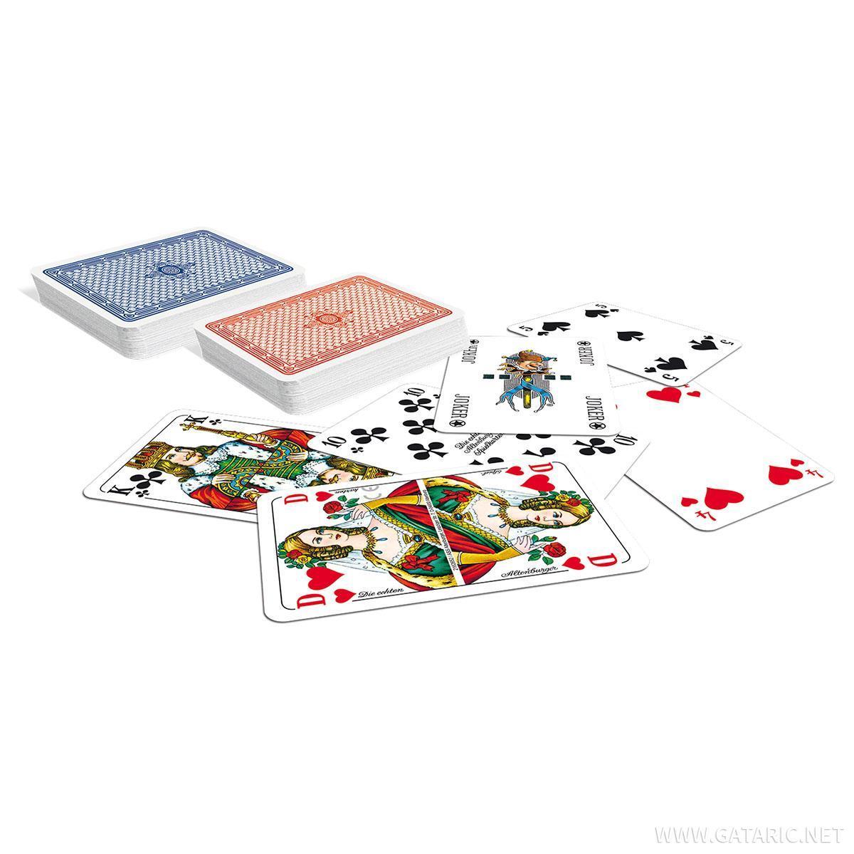Karte za Remi/Poker/Bridge, 2/1 set