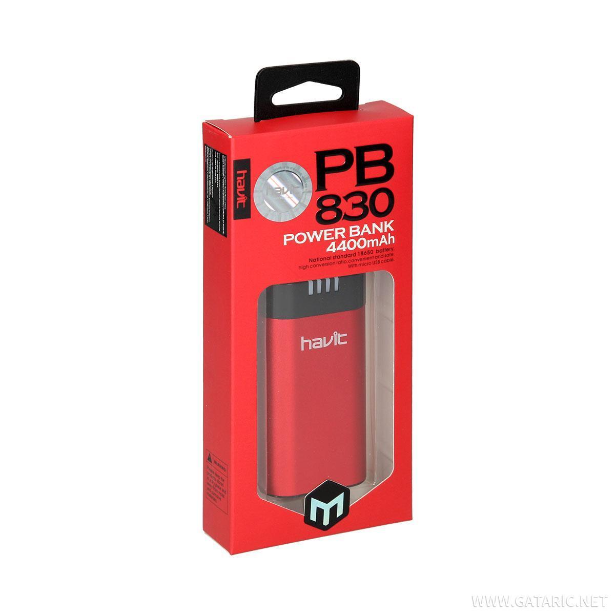 Powerbank 4400 mAh