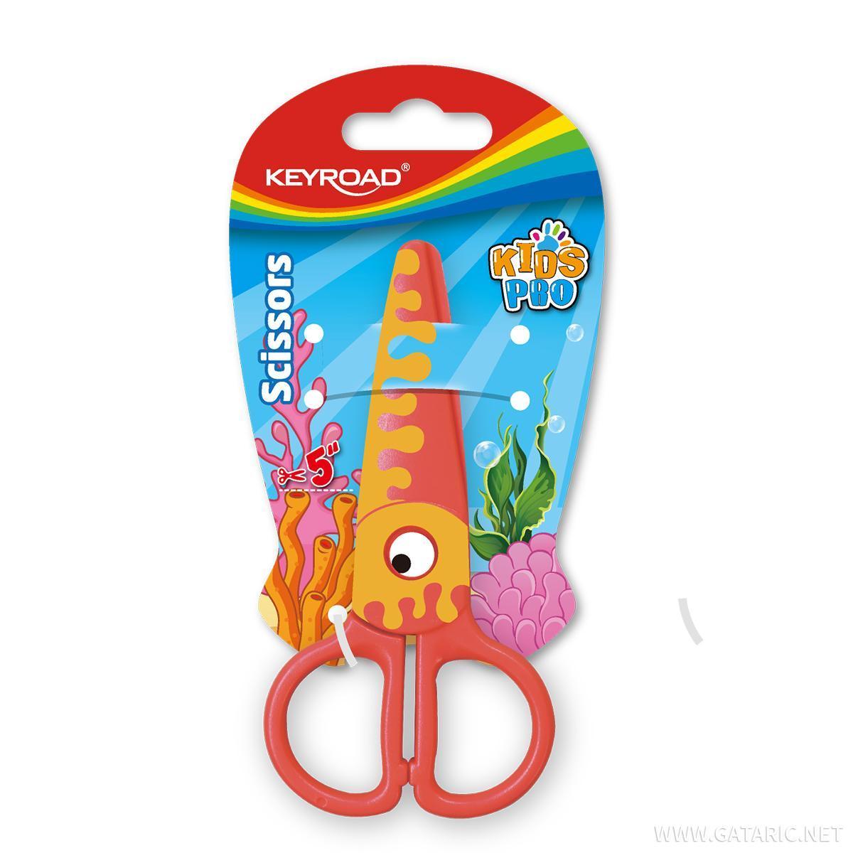 Makaze za decu ''Kids Pro Octopus'', 13cm