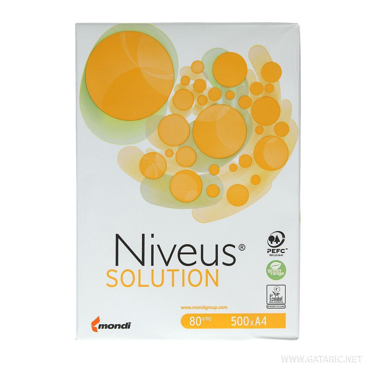 Papir Niveus ''Solution'' A4 80g