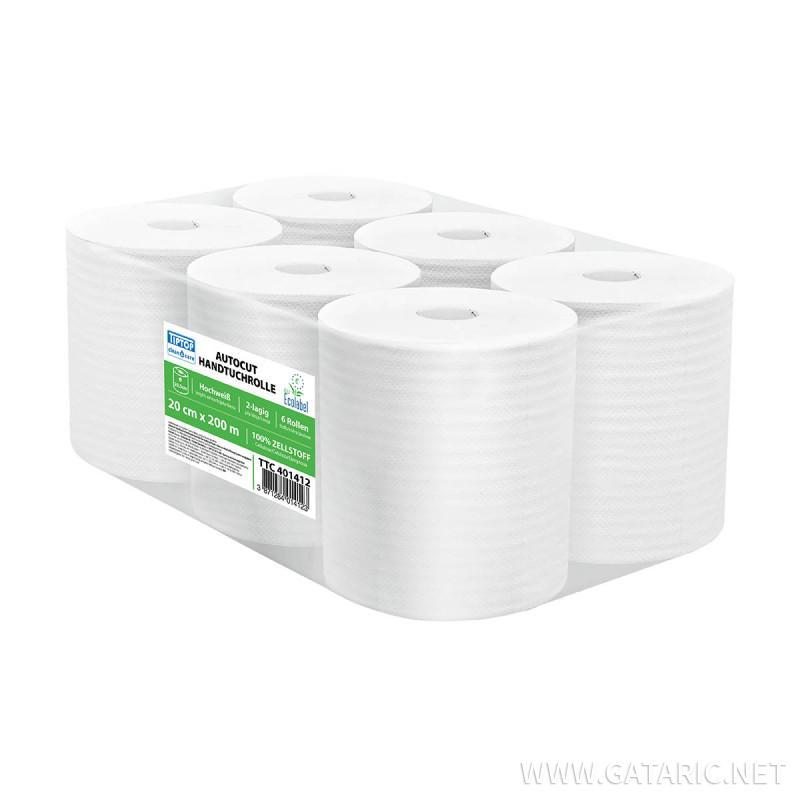 Papierhandtuchrollen 200m