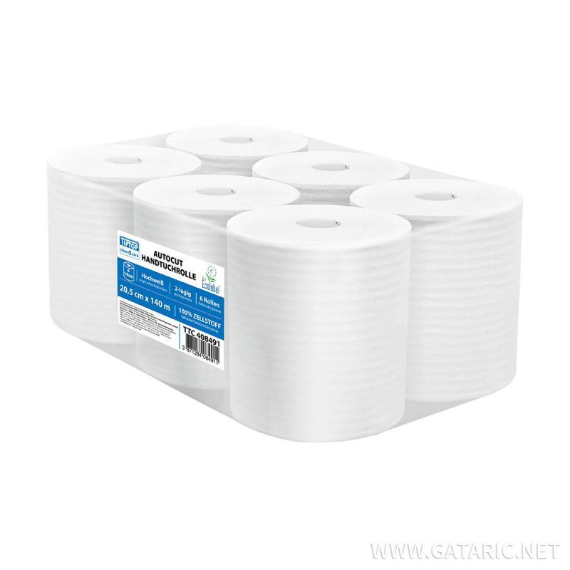 Papierhandtuchrollen 140m