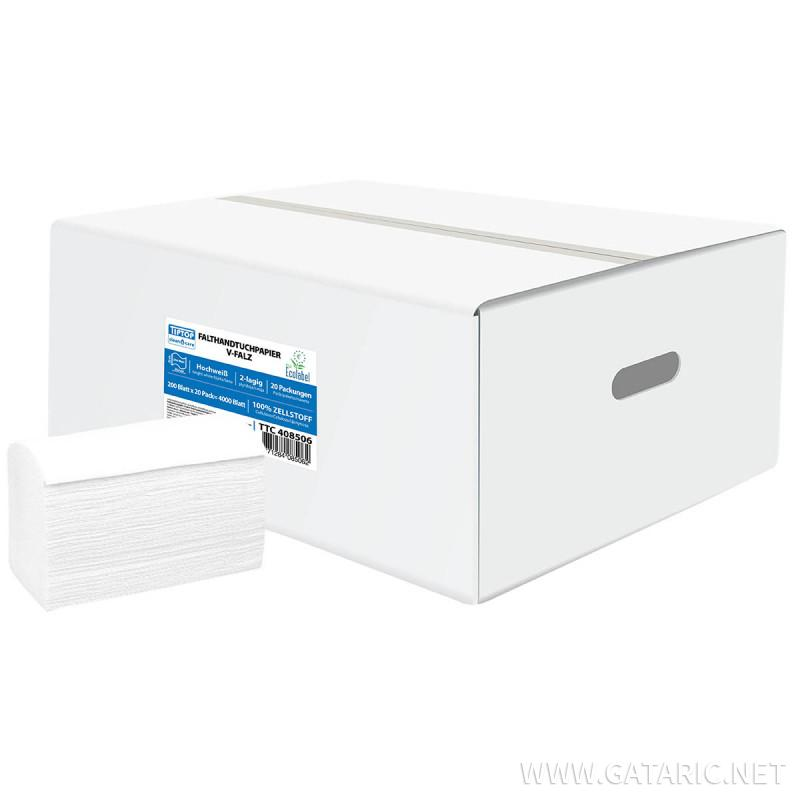 Falthhandtuchpapier V-Falz