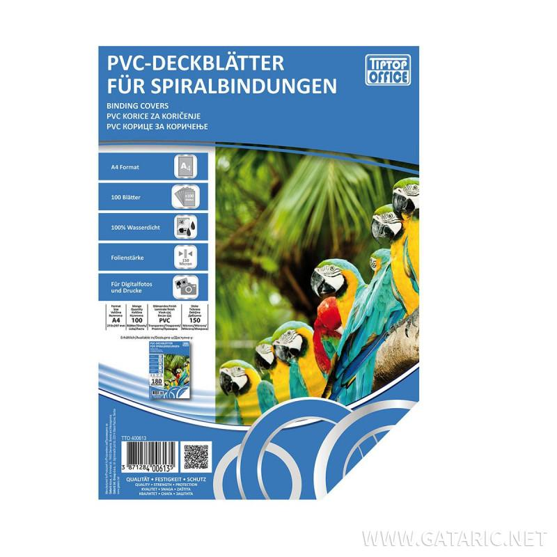 PVC korice za koričenje A4, 150mic