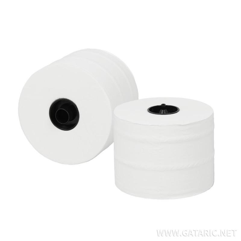 Toalet paper in rolls