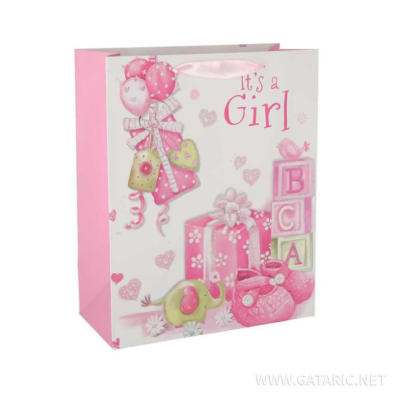 Poklon vrećica ''Baby girl''