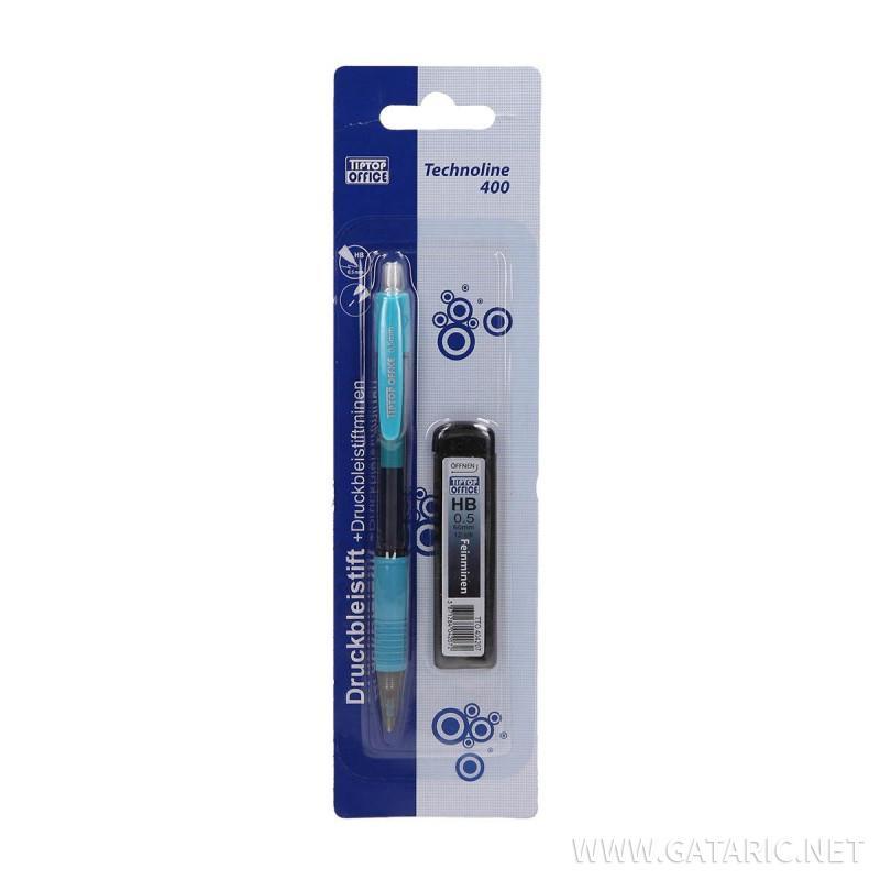 Tehnička olovka ''Technoline 400'' i HB mine, 0.5mm, 2u1