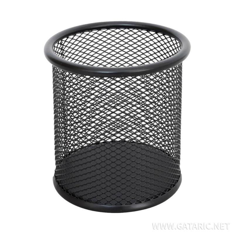 Čaša za Olovke Okrugla Metal, 90x100mm