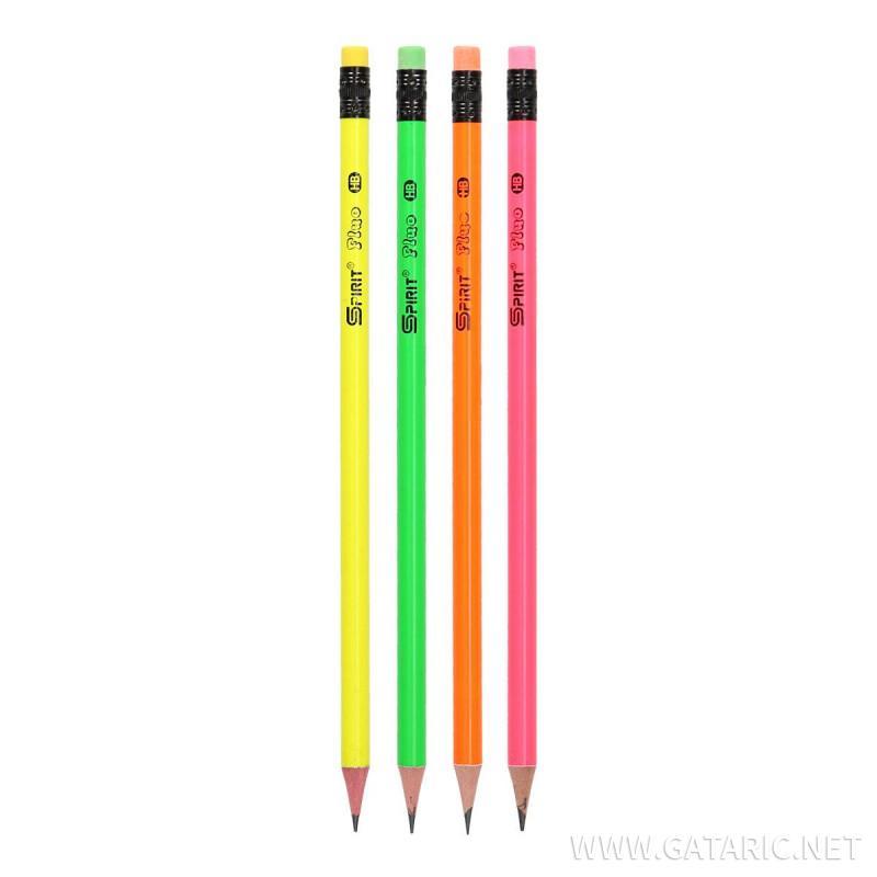 Grafitna olovka sa gumicom ''Fluo round''
