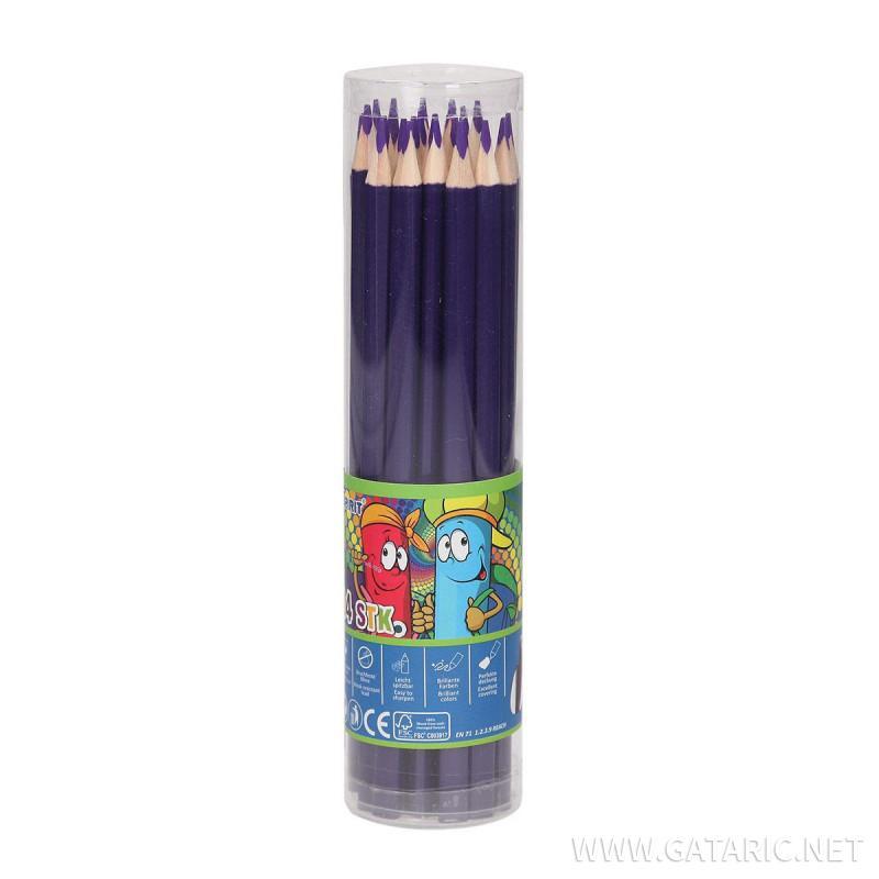 Buntstifte mit Dreikantprofil Premium Qualität, 24/1