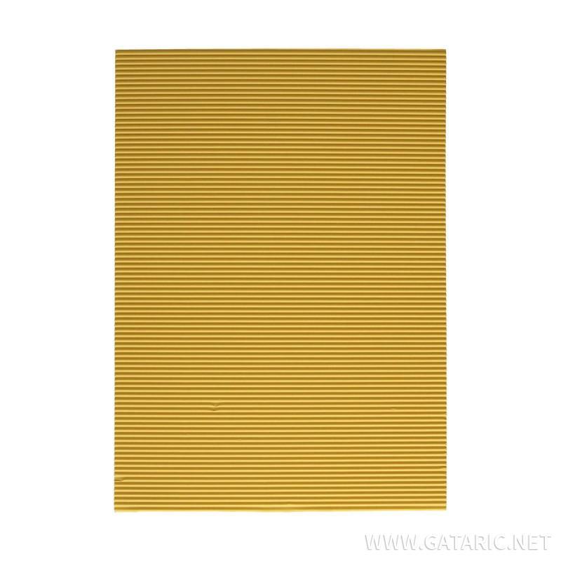 Bastelwellpappe Standard, Gelb