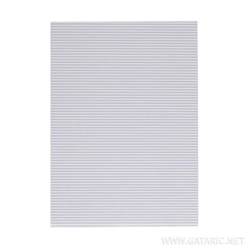 Bastelwellpappe Standard, Weiß