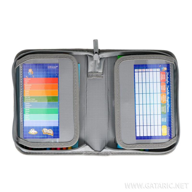 Pencil case 3D ''POLICE'' 1-Zipper, 50-pcs