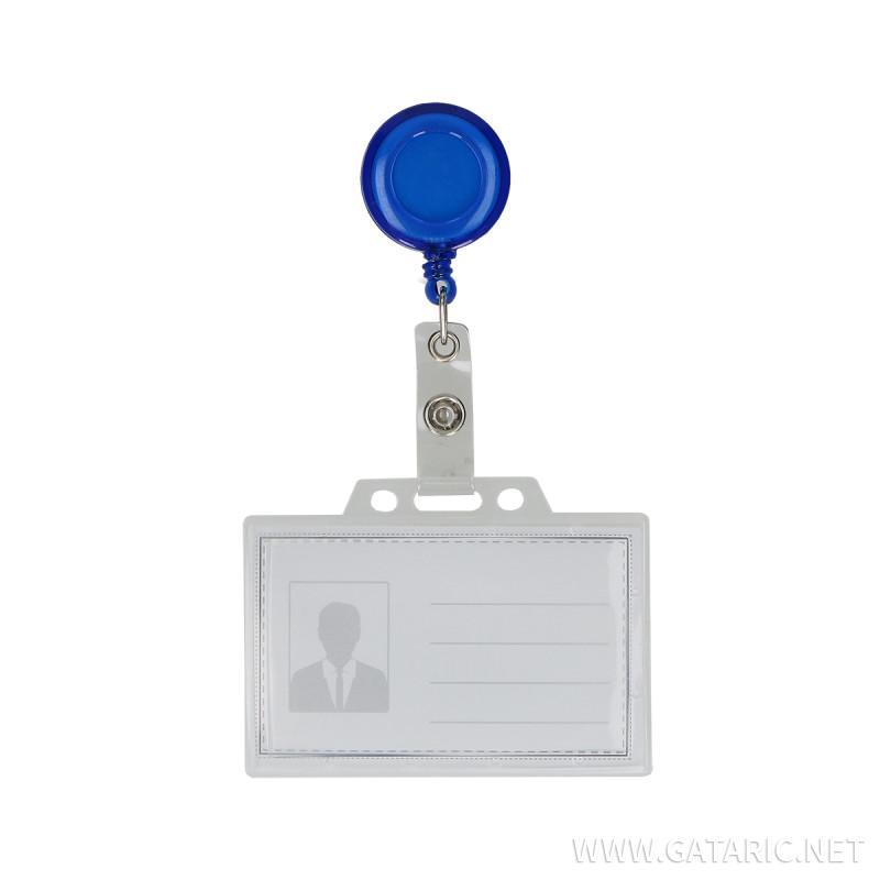 ID Kartenhalter mit ''Yoyo'' Halter, 90x60mm