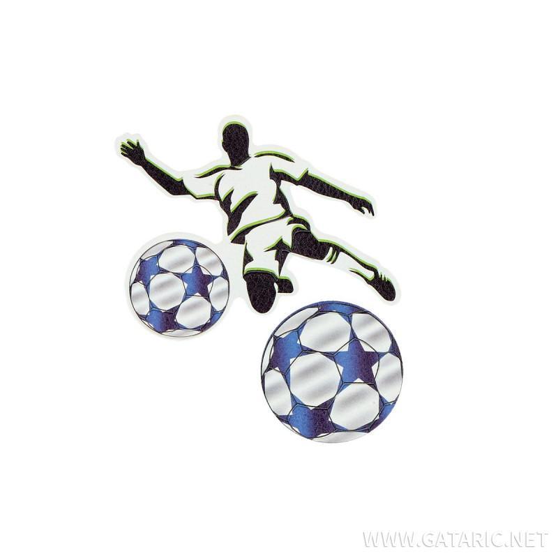 Stiker ''FOOTBALL PLAYER'', 2/1