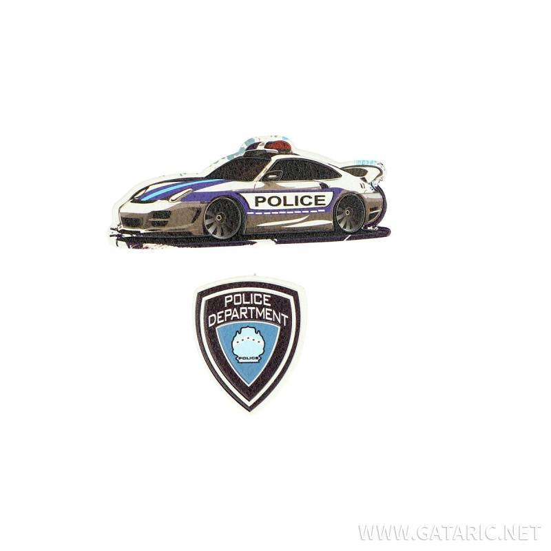Stiker ''POLICE'', 2/1