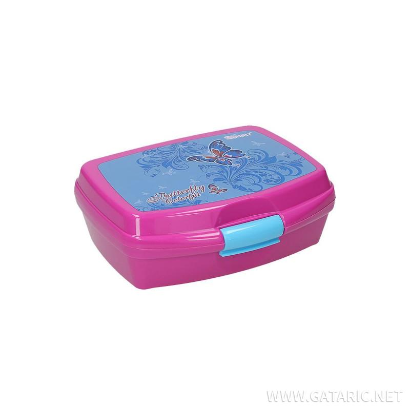 Lunch box ''BUTTERFLY'' 550ml