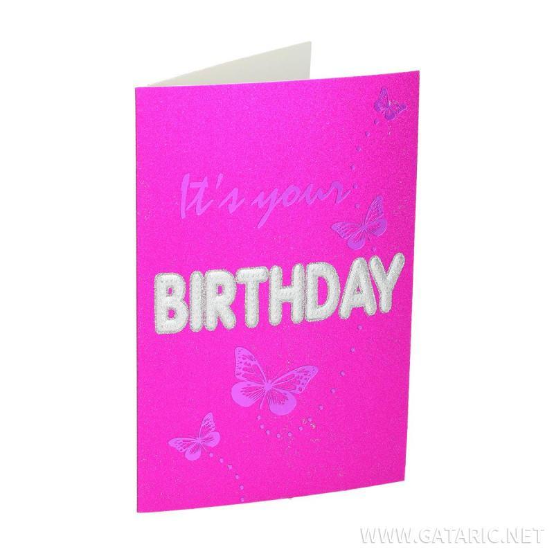 Čestitka 3D ''Happy Birthday 24''