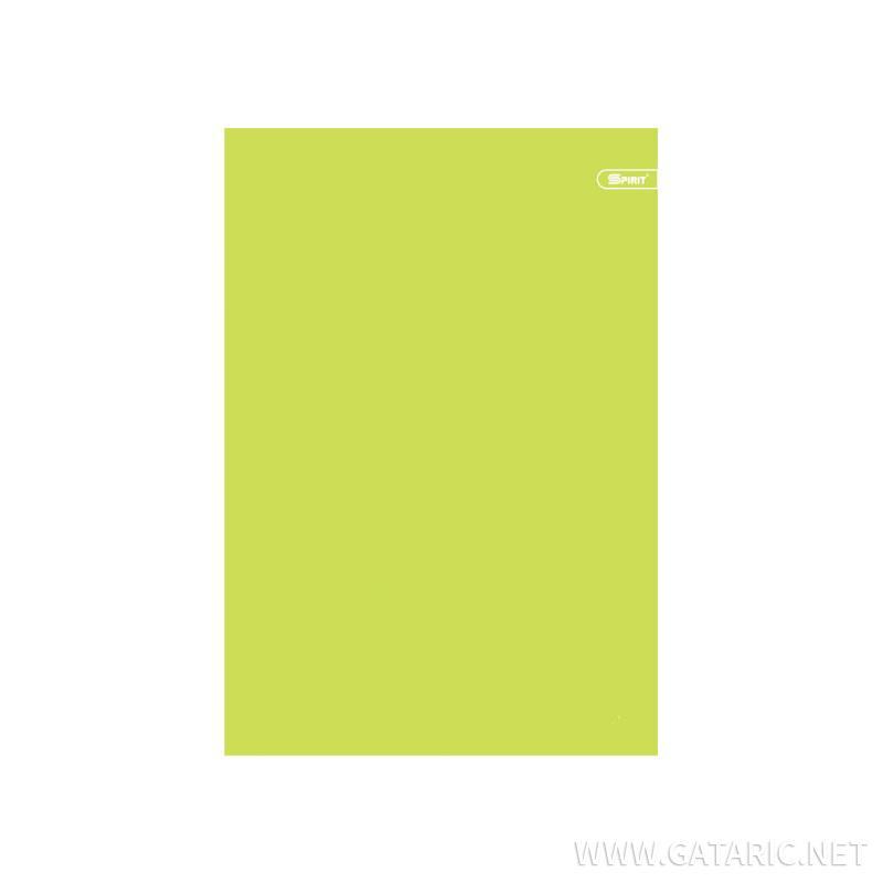 Sveska A5 PP Neon korice Čista