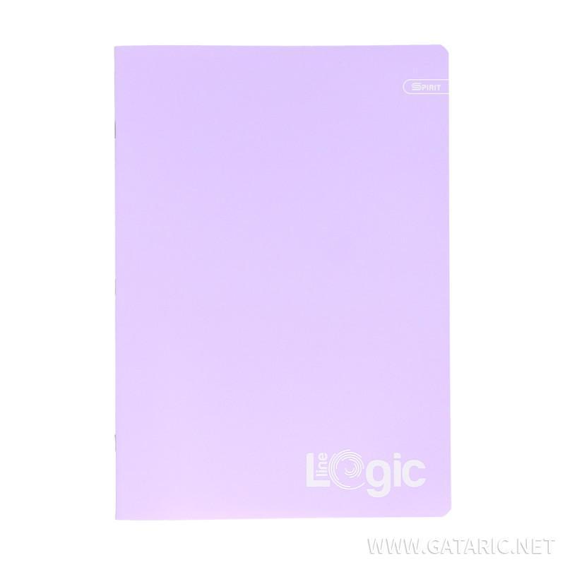 Schulheft A4, pastell, dikto, 52 Blatt, sorto
