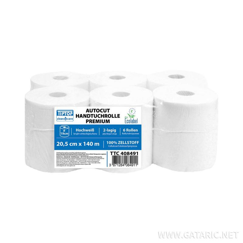 Paper towel rolls 140m