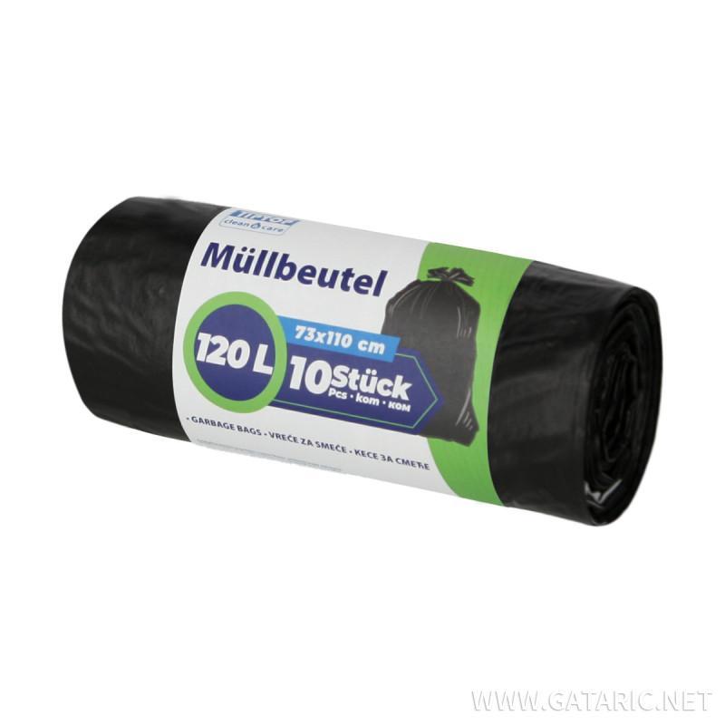Vrećice za smeće 120L, bez trake za vezivanje 10/1
