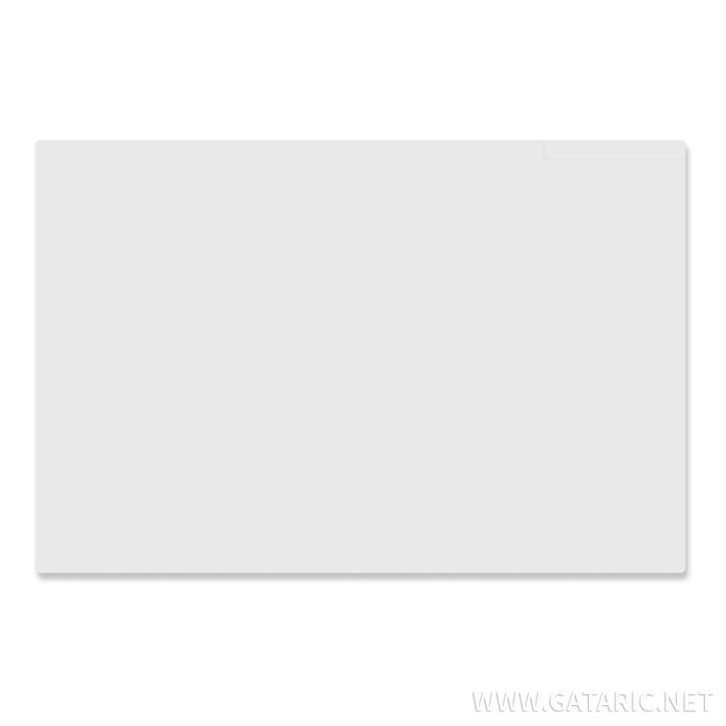 Schreibtischunterlage 60x40cm Transparent