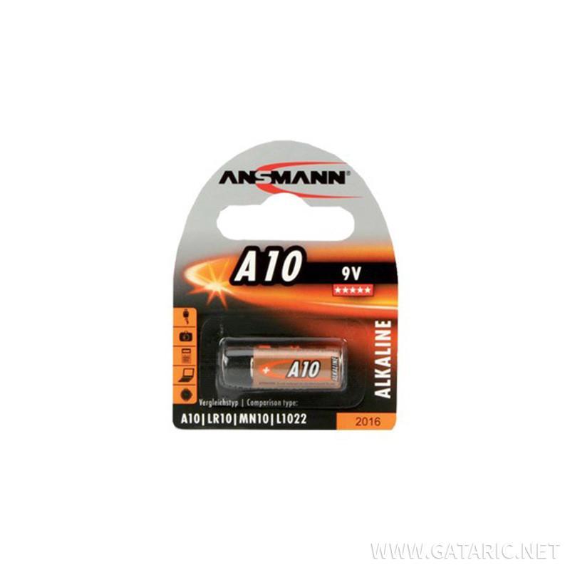 Alkaline Baterie A10 9V